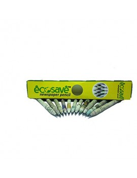 Ecosave Recycled Newspaper Pencils