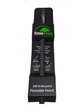 Ecosave Plantable Seed Pencils(2B) For Kids Birthday Return Gift (10 Pencil)