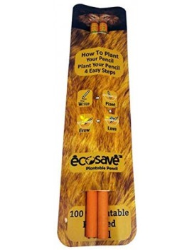 Ecosave Wild Protect Series Pack of 2 Seed Pencil For Kids Birthday Return Gift (20 Pencil)